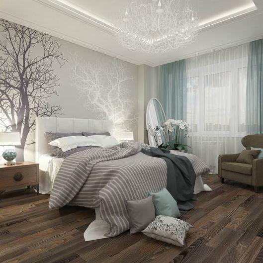 stickers murali alberi per la camera da letto