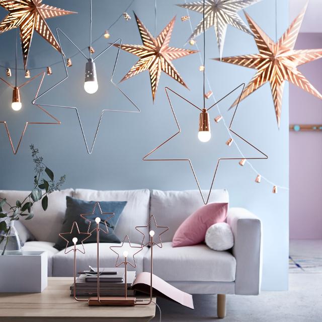 Le decorazioni del catalogo Natale Ikea 2015