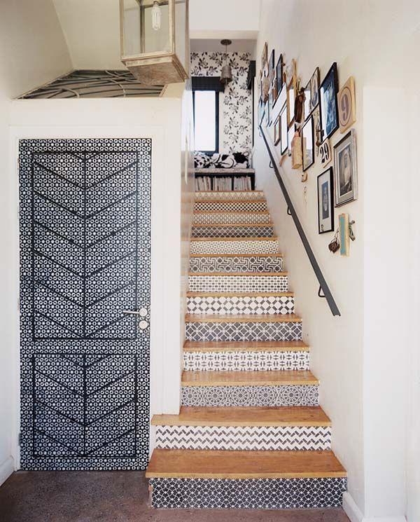 cementine per decorare le scale