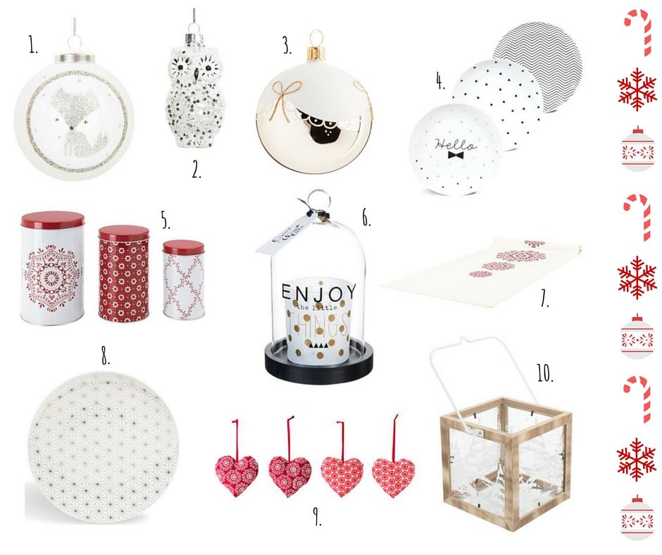 Lista dei desideri decorazioni natalizie Maison du Monde e Ikea