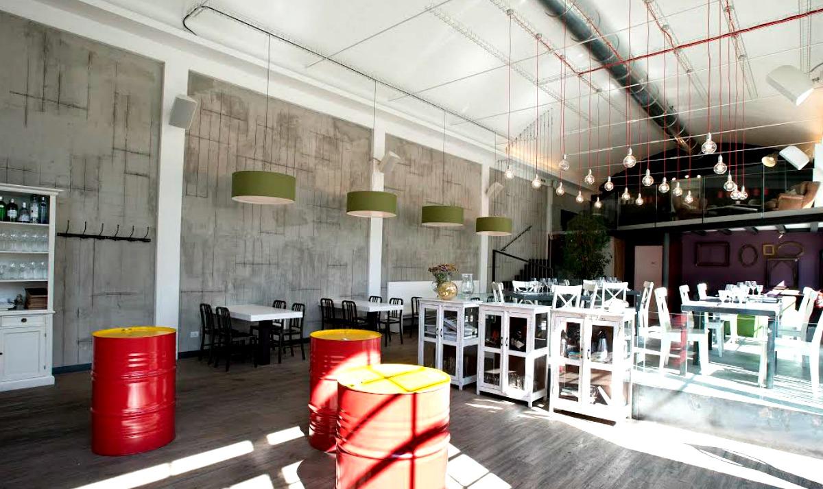 Arredamento in stile industriale: un pub ristorante svela il suo