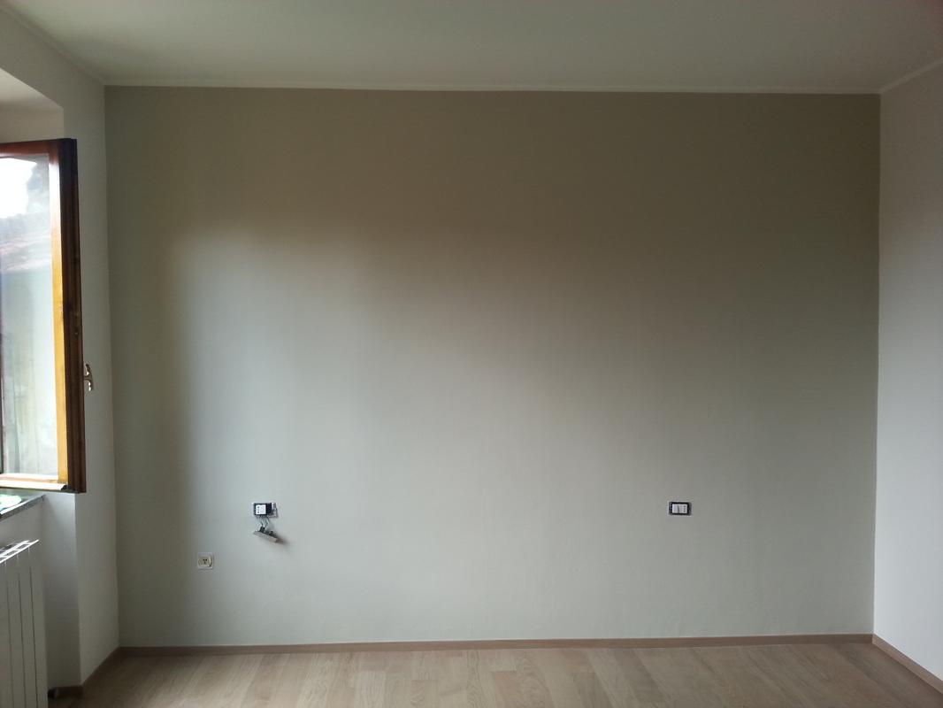Colore parete camera da letto shabby
