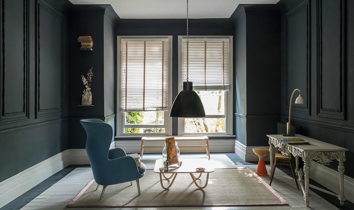 farrow and ball come scegliere i colori della stanza a. Black Bedroom Furniture Sets. Home Design Ideas