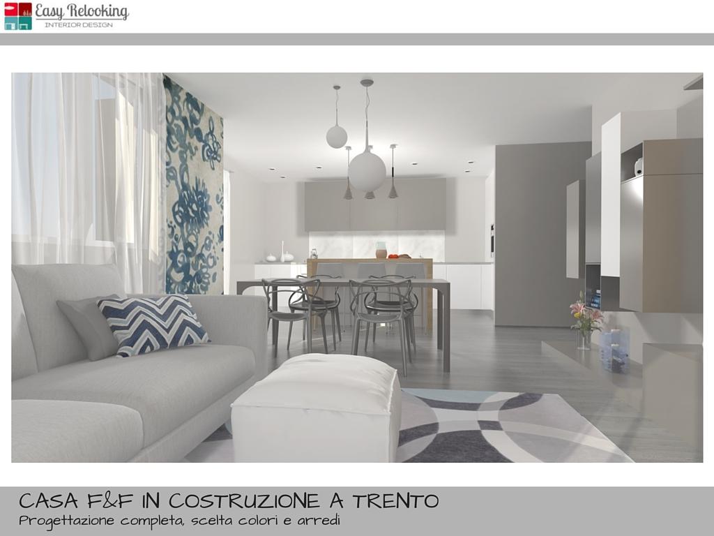Come arredare un open space cucina e soggiorno la casa di for Soggiorno cucina moderno