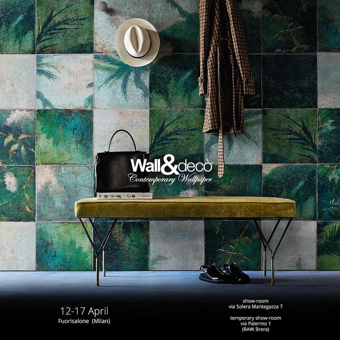 Wall&Decò fuorisalone 2016