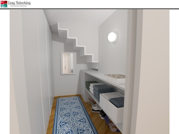 Cabina armadio loft Milano
