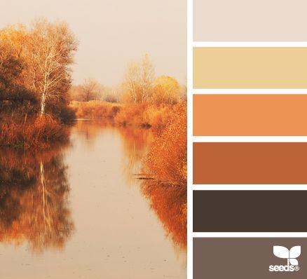 Colori interni autunno