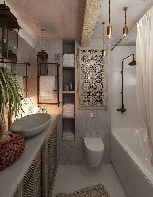 Tocchi di rame dalla cucina al bagno easyrelooking - Magico tocco divano ...
