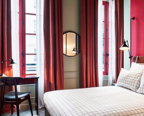Hotel di design hoxton hotel a parigi easyrelooking for Parigi hotel design