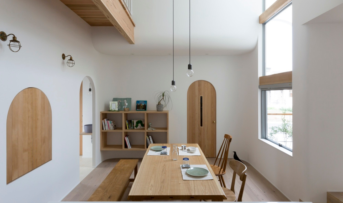 Archi In Casa Moderna arcs and curved lines protagonists in a modern key