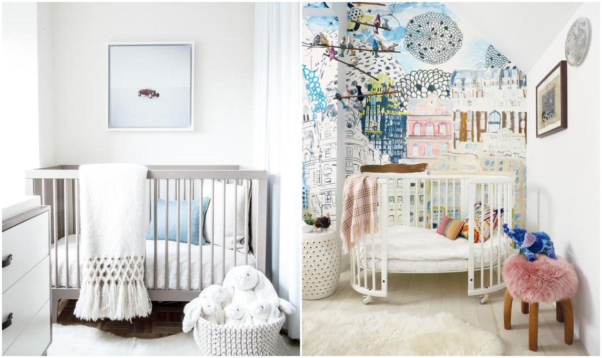 Cameretta neonato minimalismo nordico o colore - Cameretta neonato ikea ...