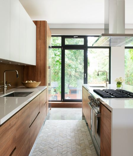 cucina-legno moderna