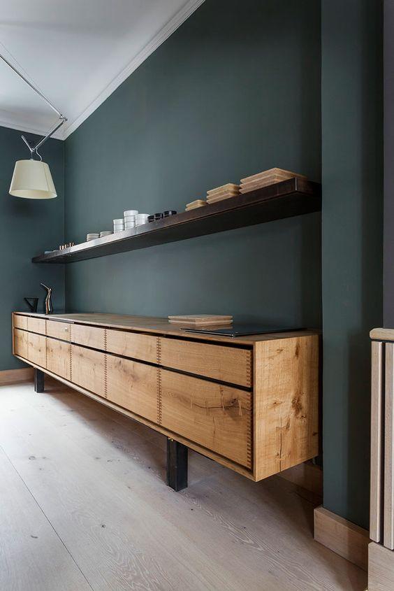 Verde per le pareti di casa: non passa di moda! e Pantone lo ...